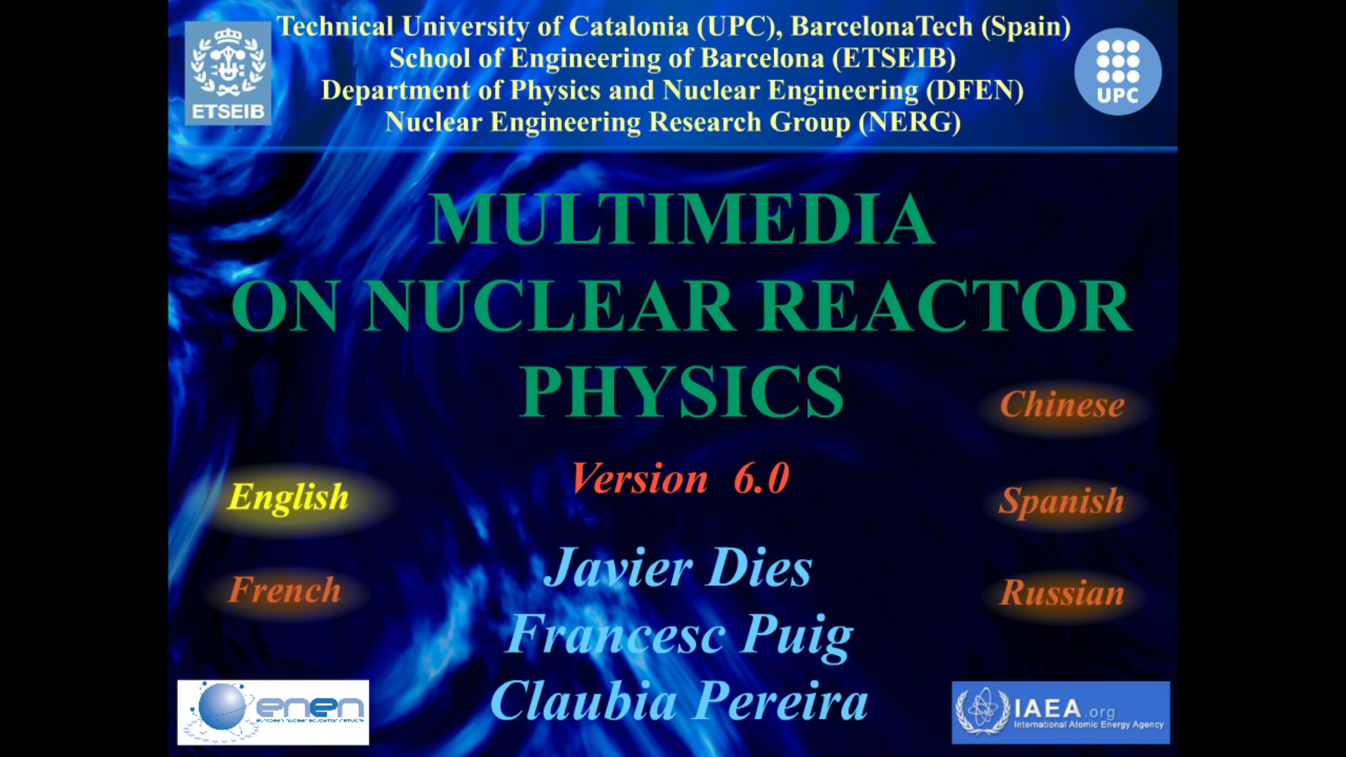 reactor physics This course provides students with an introduction to the key elements of reactor physics students completing this course will be able to discuss aspects of reactor physics and the implications that reactor physics has on the engineering of nuclear systems students will be able to perform analyses on simple reactor.