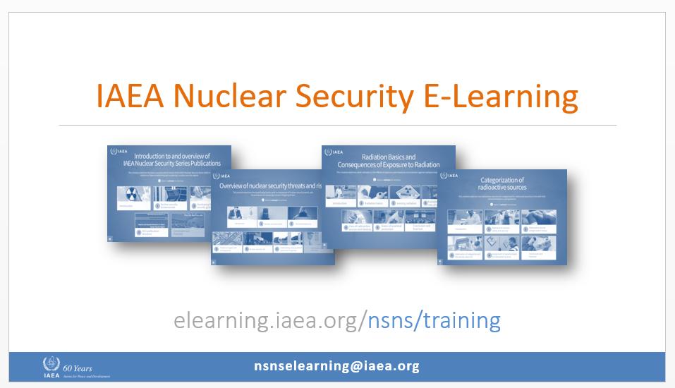 main page IAEA nuclear security