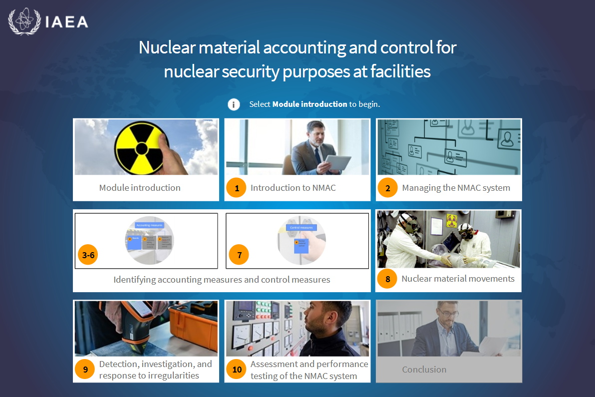 Résumé de Nuclear Material Accounting and Control (NMAC) for
